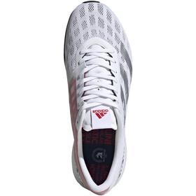 adidas Adizero Boston 9 BS Scarpe Uomo, footwear white/silver metal